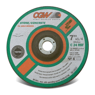 Right Angle Grinder Wheels